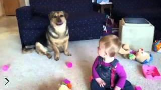 Смотреть онлайн Заразительный смех ребенка