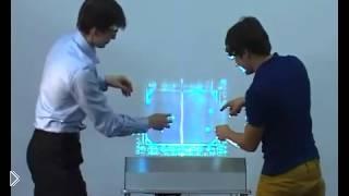 Смотреть онлайн Неощутимый сенсорный дисплей из будущего