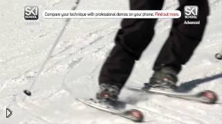 Смотреть онлайн Обучение катанию на лыжах: карвинг