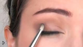 Учимся красить правильно глаза: макияж для начинающих - Видео онлайн