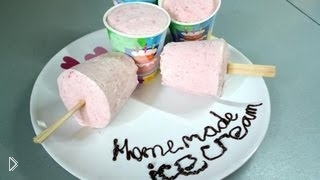Смотреть онлайн Сливочное мороженое своими руками