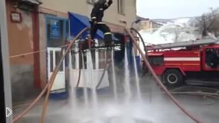 Смотреть онлайн Пожарники сделали гидролет