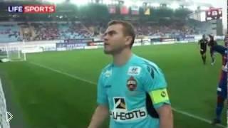 Смотреть онлайн Драка футбольных фанатов ЦСК на стадионе