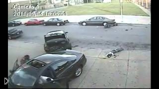 Смотреть онлайн Подборка аварий с видеорегистратора