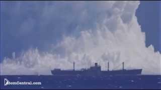 Смотреть онлайн Самый мощный подводный взрыв
