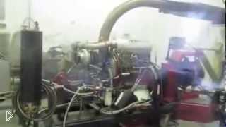 Смотреть онлайн Взрыв двигателя на тестировании