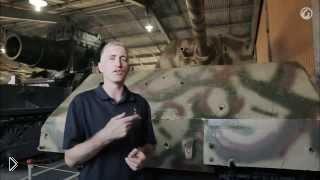 Смотреть онлайн Обзор тяжелого немецкого танка Маус