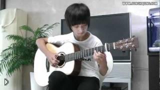 Смотреть онлайн Очень красивая гитарная музыка