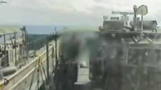 Смотреть онлайн Реальное падение вертолёта черный ястреб