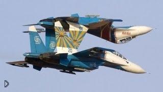 Смотреть онлайн Пилотажная группа «Русские витязи»