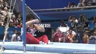 Смотреть онлайн Провальные выступления в спортивной гимнастике