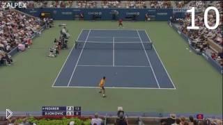 Смотреть онлайн Лучшие моменты большого тенниса: боги игры