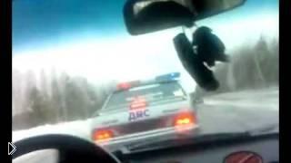 Смотреть онлайн Настоящая погоня гаишников в России
