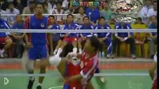 Смотреть онлайн Удивительная смесь футбола и волейбола