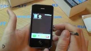Смотреть онлайн Самый дешевый китайский айфон 5