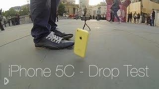 Смотреть онлайн Прочность чехла – замедленный ролик iPhone 5