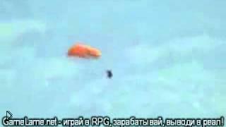 Смотреть онлайн Сальто в воздухе с парашютом