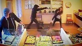 Смотреть онлайн Дерзкое ограбление ювелирного магазина