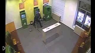 Смотреть онлайн Ограбление банкомата сбербанка в Москве