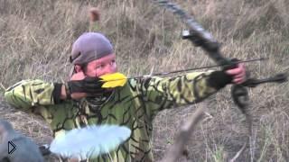 Охота с блочным луком на птиц - Видео онлайн