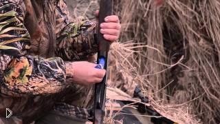 Смотреть онлайн Весенняя охота с подсадной на гуся и утку