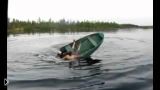 Смотреть онлайн Забавные случаи на рыбалке