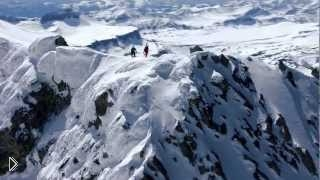 Фрирайд и фристайл катание на горных лыжах - Видео онлайн
