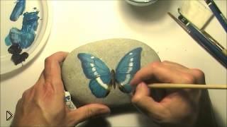 Смотреть онлайн Мастер-класс художественной росписи на камнях для начинающих