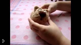 Смотреть онлайн Мастер класс сухого валяния из шерсти: Кот