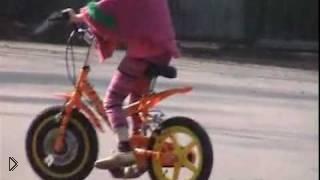 Смотреть онлайн Учимся кататься на велосипеде