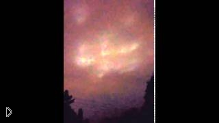 Реальное НЛО - глазами очевидца - Видео онлайн