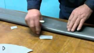 Смотреть онлайн Ремонт резиновой лодки своими руками