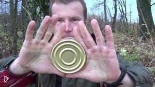 Как открыть консервную банку голыми руками - Видео онлайн