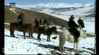 Смотреть онлайн Охота с орлами на волков и лису в Казахстане