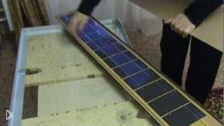 Смотреть онлайн Как сделать солнечную батарею для дома