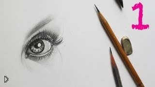 Обучение рисования портрета карандашом поэтапно - Видео онлайн