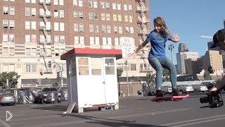 Летающий скейтборд без колес - Видео онлайн