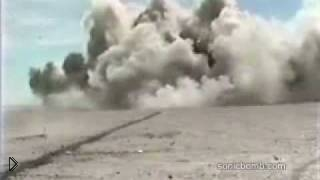 Смотреть онлайн Как взрывается кассетная бомба