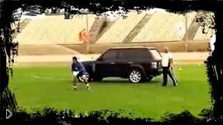 Смотреть онлайн Настоящая тренировка футбольных вратарей