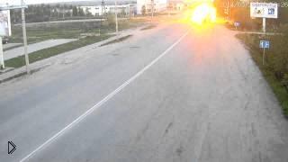 Смотреть онлайн Страшная авария в Сыктывкаре: 28 мая 2014