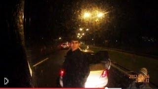 Попытка кавказцев напасть на фуру - Видео онлайн
