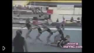 Смотреть онлайн Падения в спортивной гимнастике