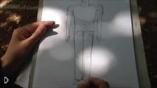 Смотреть онлайн Как нарисовать человека карандашом для начинающих