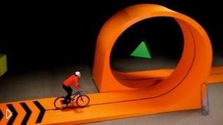 Потрясающие трюки на велосипеде - Видео онлайн