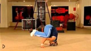 Смотреть онлайн Урок как научиться танцевать брейк данс