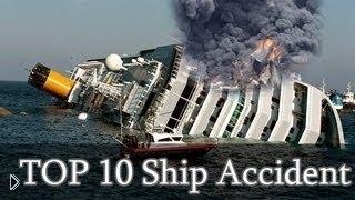 Смотреть онлайн Подборка жутких кораблекрушений