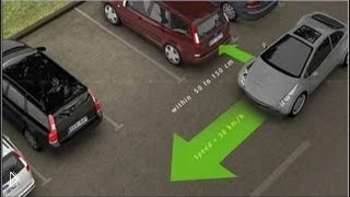 Смотреть онлайн Обучение правильной параллельной парковке