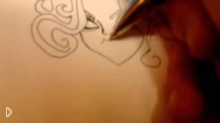 Смотреть онлайн Как поэтапно нарисовать Монстер Хай карандашом