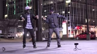 Смотреть онлайн Самый красивый танец на ночной улице
