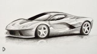 Как нарисовать гоночную машину карандашом - Видео онлайн